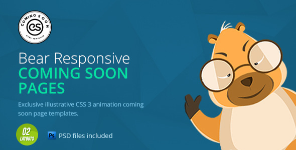 Coming Soon | HTML Animated Template - Specialty Pages Site Templates