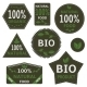 Bio Labels and Symbols  - GraphicRiver Item for Sale