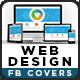 Web Design Facebook Cover - GraphicRiver Item for Sale
