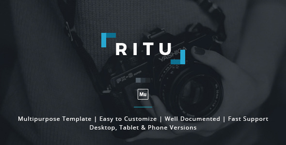 Ritu – Muse Template