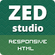 ZED - Premium Portfolio and Business HTML Template Nulled