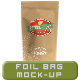 Foil Bag Mock-up - GraphicRiver Item for Sale