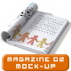 A4 Book / Magazine Mock up V.02 - GraphicRiver Item for Sale