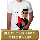Men T-Shirt Mock up - GraphicRiver Item for Sale