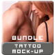 Tattoo Mock-up Bundle (Men & Women) - GraphicRiver Item for Sale