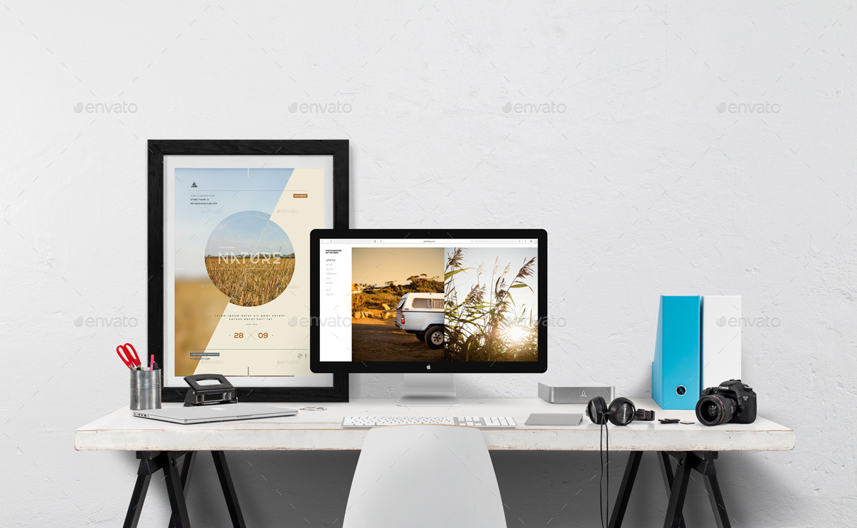 Macbook - Desktop Mockup Creator by mocks_co | GraphicRiver