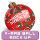 Christmas Ball Mock up - GraphicRiver Item for Sale