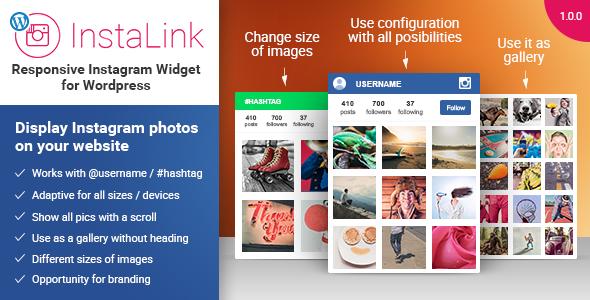 Instagram widget wordpress instagram widget by elfsight codecanyon instalink wp previewg ccuart Choice Image