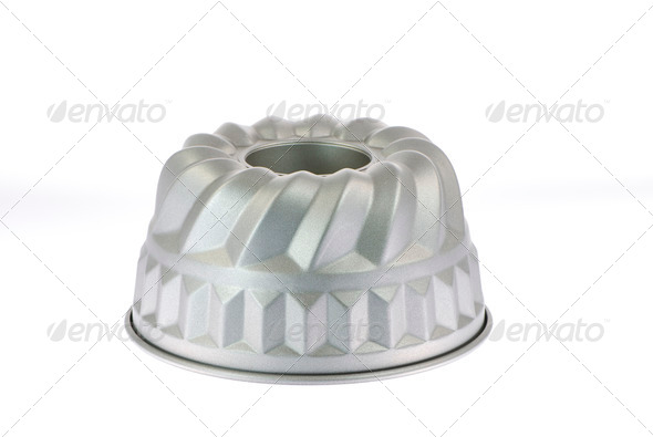 Cake tin - Stock Photo - Images