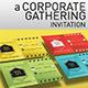 Corporate Gathering Invitation - GraphicRiver Item for Sale