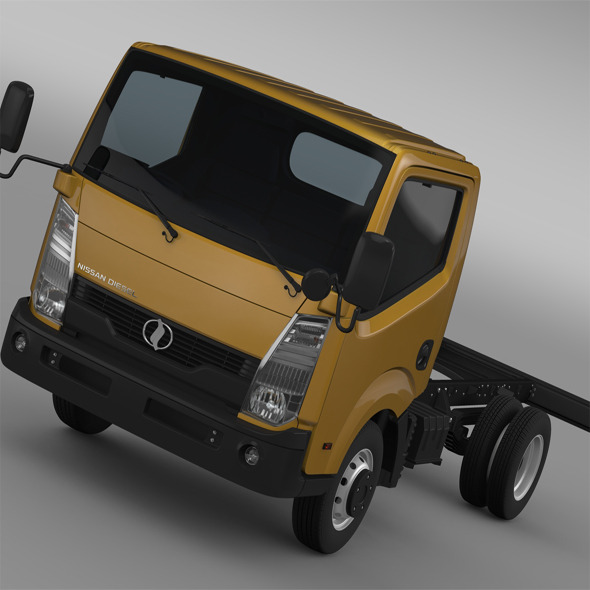 Nissan Condor Chassi 2012 - 3DOcean Item for Sale