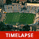 Soccer Match at the Stadium from Above - VideoHive Item for Sale