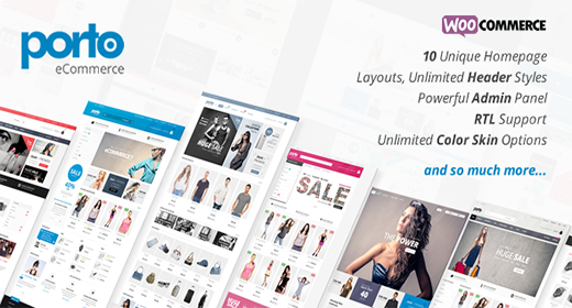 Best Responsive Wordpress + Woocommerce Themes 2017 - 2018