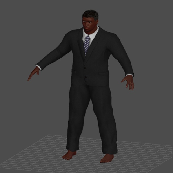 man 3d model - 3DOcean Item for Sale
