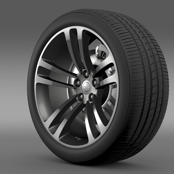 Chrysler 300 SRT8 Core wheel - 3DOcean Item for Sale