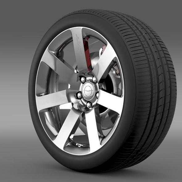 Chrysler 300 SRT8 wheel - 3DOcean Item for Sale