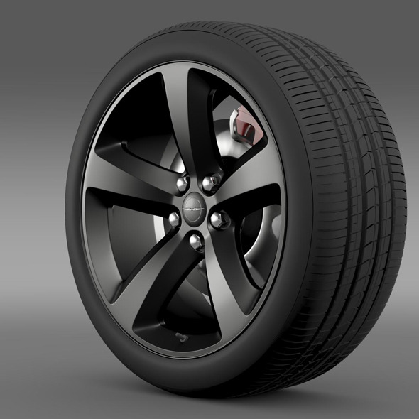 Chrysler 300S wheel - 3DOcean Item for Sale
