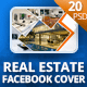 Real Estate Facebook Covers and Banners - GraphicRiver Item for Sale