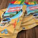Summer Travel Vacation TriFold Brochure 26 - GraphicRiver Item for Sale