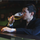 Businessman Drinking Beer in the Pub - VideoHive Item for Sale