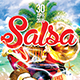 SALSA  Flyer print template  - GraphicRiver Item for Sale