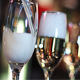 Pouring Champagne Glasses in the Bar - VideoHive Item for Sale