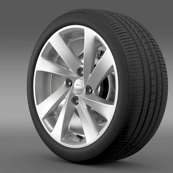 Seat Mii wheel - 3DOcean Item for Sale