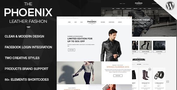 Phoenix – Responsive WooCommerce WordPress Theme - WooCommerce eCommerce