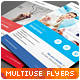 Clean Minimal Multipurpose Flyers vol. 6 - GraphicRiver Item for Sale