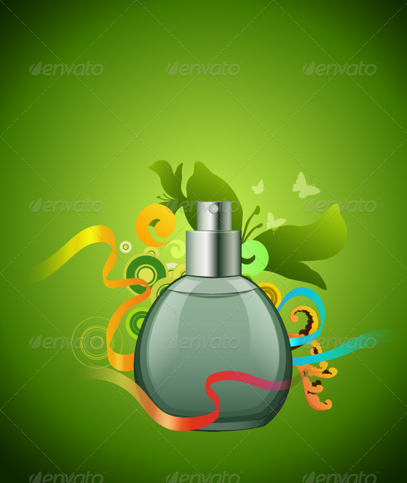 Perfume Illustration - Retail Commercial / Shopping