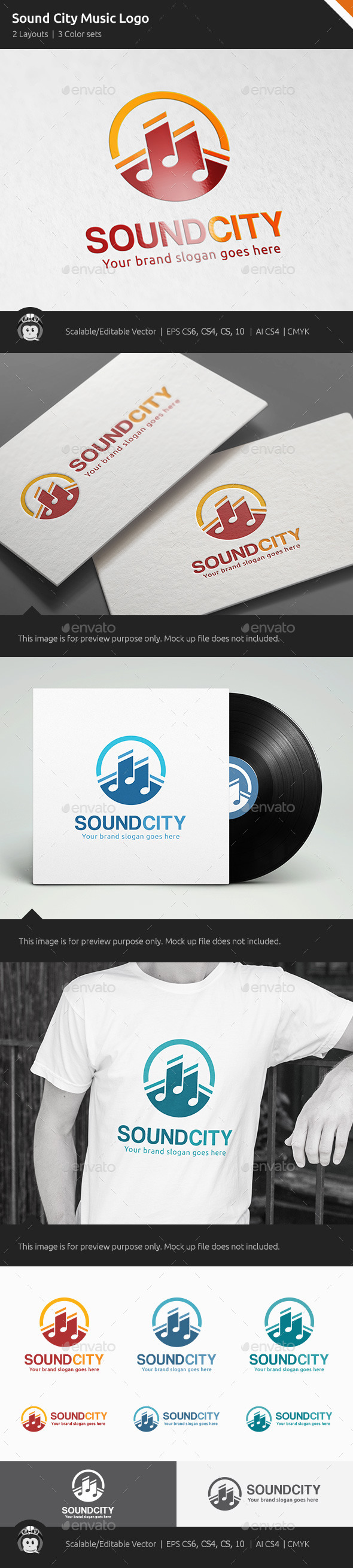 Sound City Music Logo