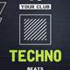 Techno - Flyer