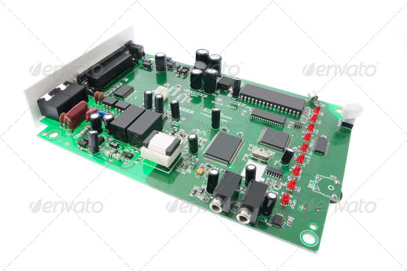 Network Card - Stock Photo - Images
