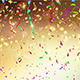 Confetti and Streamers Background - GraphicRiver Item for Sale
