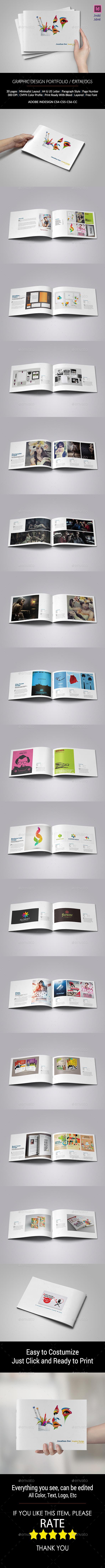 Graphic Design Portfolio - Catalogs Brochures