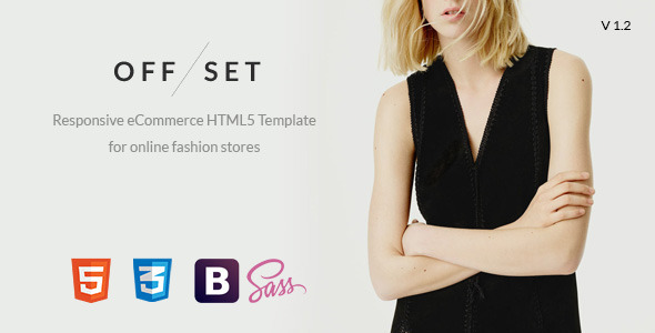 OFFSET - eCommerce, Portfolio HTML5 Template - Fashion Retail