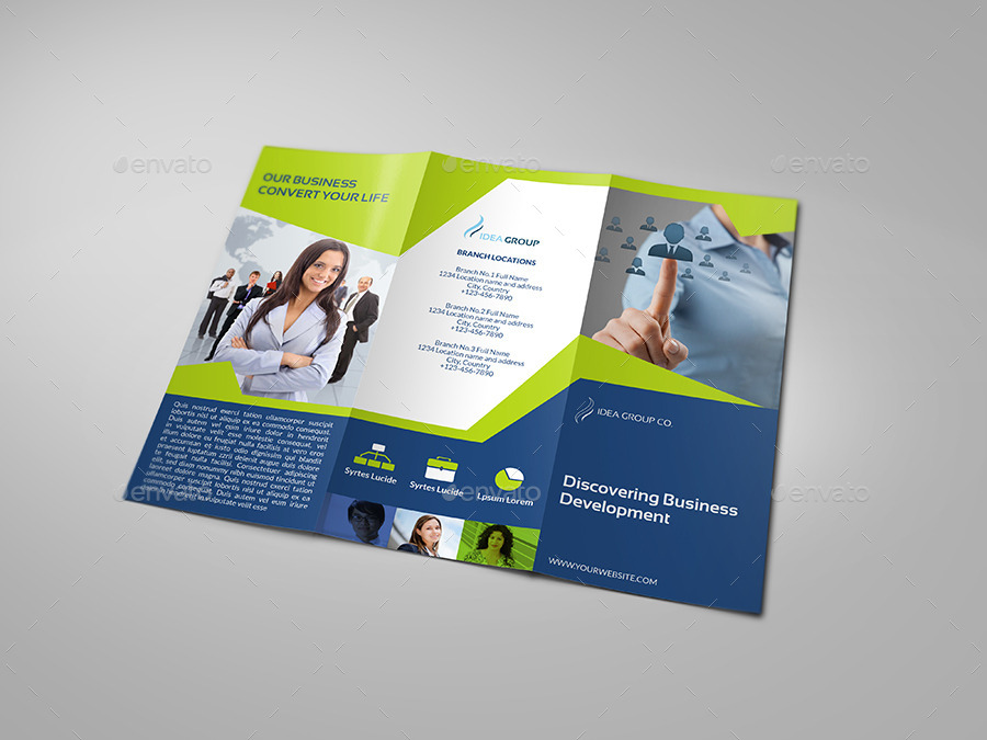 company brochure tri fold brochure vol 20 by owpictures graphicriver
