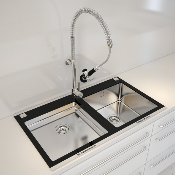 Kuppersbusch Kitchen Sink - 3DOcean Item for Sale