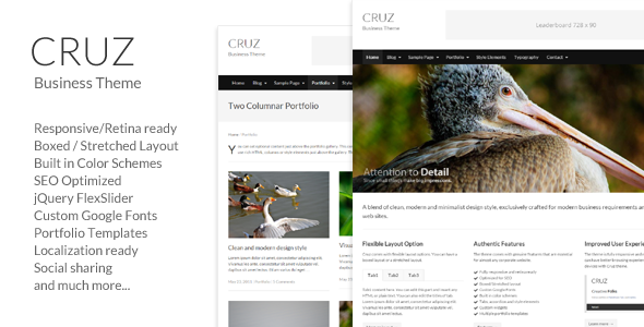 Cruz – Modern Business WordPress
