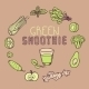 Green Smoothie Template - GraphicRiver Item for Sale