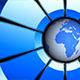 Blue Globe Animation - VideoHive Item for Sale
