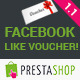 Prestashop Facebook Like Voucher - CodeCanyon Item for Sale
