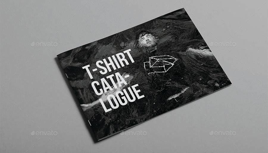 T-Shirt Catalogue Template by Adekur3 | GraphicRiver