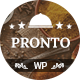 Pronto - Restaurant & Event Wordpress Theme - ThemeForest Item for Sale