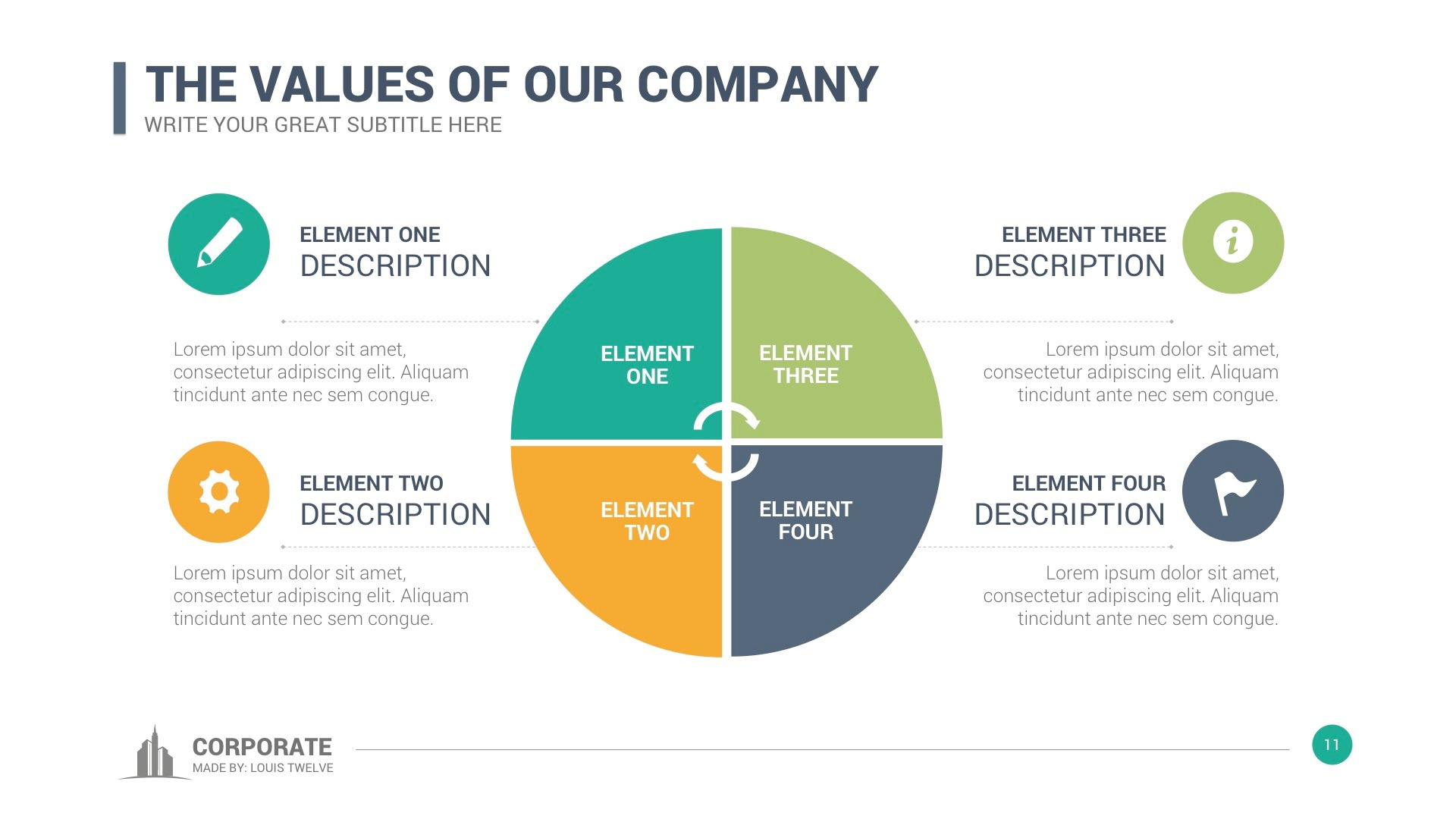 Corporate Overview Powerpoint Template by LouisTwelve-Design ...