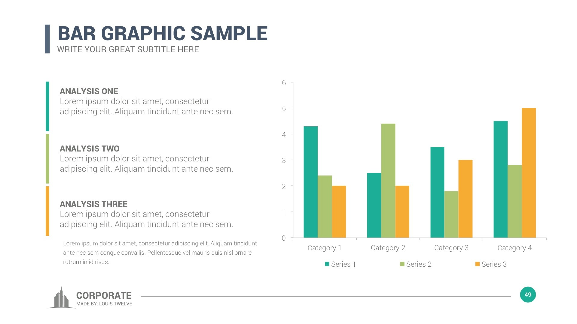 Corporate overview powerpoint template by louistwelve design corporate overview powerpoint template toneelgroepblik Image collections