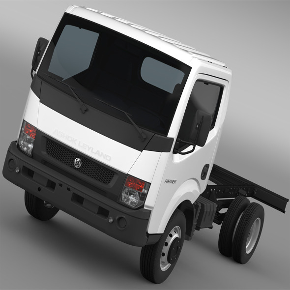 Ashok Leyland Partner Chassi 2015 - 3DOcean Item for Sale