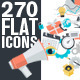 Modern Flat Design Style Icons  - GraphicRiver Item for Sale