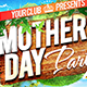 Mother`s Day Flyer Facebook cover template  - GraphicRiver Item for Sale