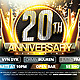 Anniversary Party Flyer v2 - GraphicRiver Item for Sale